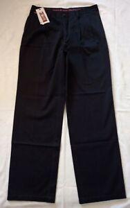 Calvin Klein Khakis Men's Pleated Pants Black Size W34