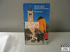 Big Man on Campus (VHS, 1991) Allan Katz Corey Parker Cindy Williams