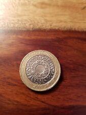 2009 £ 2 moneda de dos libras de tecnología de pie sobre los hombros de los Gigantes