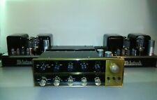 McIntosh MC-30  Vintage Pair Tube Amplifier & C20 Tube Preamplifier SET OF 3