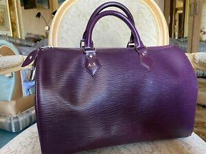 Louis Vuitton Speedy 35 Epi Cassis bag