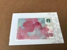 STARBUCKS JAPAN 2011 SAKURA 2012 CARD