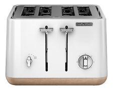 Morphy Richards Scandi Aspect 4 Slice Toaster - White