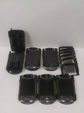 Lot of 5 Compaq 3850 Pocket Pc, Multiple Batteries, & Cases - Free Shipping