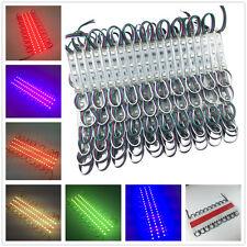 1000PCS 500Feet Bright 5050 RGB LED Module SMD 3 LEDS Light Waterproof 12V DC