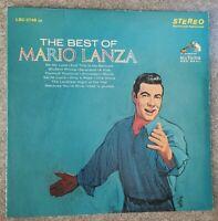 Mario Lanza - The Best of Mario Lanza (Vinyl LP - Used VG)