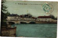 CPA ARCIS - sur - AUBE .- Le pont et la maison de dante  (197195)
