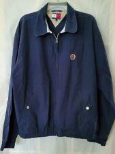 NOS Vintage 90s Tommy Hilfiger Navy Blue Jacket Full Zip-...