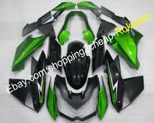 For Kawasaki Z1000 2010 2011 2012 2013 Black green Sportsbike Fairing Body Kit