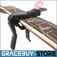 Alice Black Alloy Guitar Capo For Acoustic/ Electric/ Classical Guitar, Cappo On