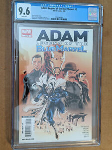 Adam Legend of the Blue Marvel #2 1st Print 2nd Appearance CGC 9.6 NM+