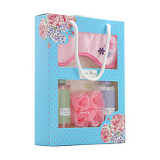 """POPPY ROSE"" LUXURY BATH CARE GIFT SET incl SHOWER GEL, BODY LOTION AND EYE MASK"