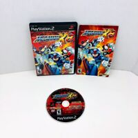 Mega Man X8 Sony PlayStation 2 PS2 Video Game Complete With Manual