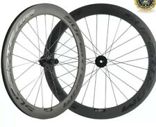Superteam 60mm Carbon Disc Brake Wheelset Thru Axle Bicycle Wheels