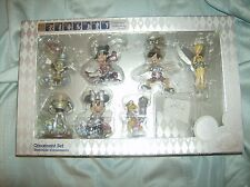 D23 Exclusive 25th Anniversary World of Disney Ornament Set 7Pc LE