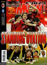 FORZA MILAN!=N°5 2006=POSTER CURVA SUD=COSTACURTA=MALDINI=SEEDORF=DOLCE&GABBANA=