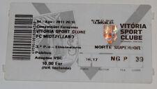 old TICKET EL Vitoria Guimaraes Portugal - FC Midtjylland Denmark