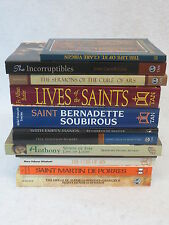 LOT OF TWELVE LIVES / BIOGRAPHIES OF SAINTS All are Very Good Softcovers