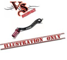 Apico Forged Gear Lever Honda CR250 92-07  Black and Red