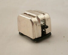 """Toaster w/ Toast dollhouse miniature furniture  1/12"""" scale MA1053 metal"""