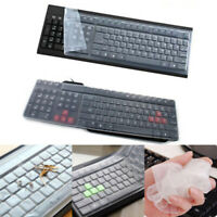 Universal Keyboard Protector Film Silicone Skin Cover For Laptop PC Notebook USA