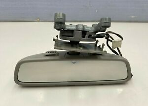 2010 - 2013 MERCEDES S CL CLASS - INTERIOR REAR VIEW MIRROR GRAY OEM