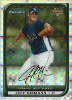 2008 Bowman Chrome X-Fractors Baseball Card Pick