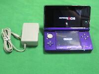 Nintendo 3DS Midnight Purple Nintendo 3DS Console Very Good 8811