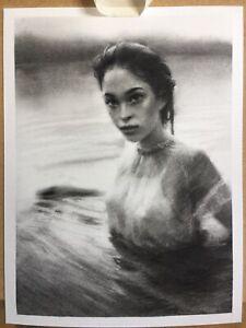Charcoal artwork on 22.9/30.5cm Strathmore paper