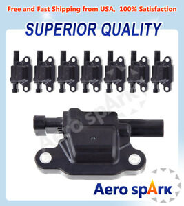 Ignition Coils Pack of 8 Replacement For Chevrolet Silverado 1500  C1511 UF413