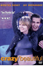 Crazy Beautiful (DVD, 2001) Kirsten Dunst, Jay Hernandez CRAZYBEAUTIFUL MOVIE