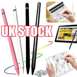 Universal Capacitive Touch Screen Pen Drawing Stylus For iPad Android Tablet UK