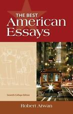 The Best American Essays, College Edition by Robert Atwan (2013, Paperback)