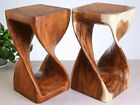 Wooden Handcraft Chair  Genuine Wood Decorate Chair Strong Beautiful Chair