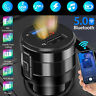 Wireless Bluetooth 5.0 Car FM Transmitter Music MP3 AUX Radio 2 USB Charger LED