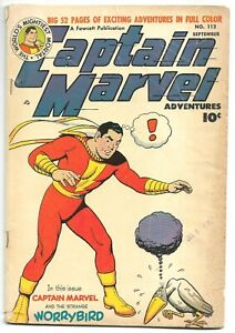 Captain Marvel Adventures #112, 1950 Fawcett  Shazam! 4.5 VG+