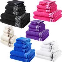 Towel Set 100% Egyptian Cotton Bale Towel set Supreme Quality Pack of 7 New