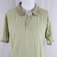 fcc536f50 Johnnie Walker Men's Large L s/s Polo Shirt Green Cotton Scotch Whisky EUC