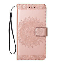 Womens Flip Magnetic Wallet Case Floral Print Cover For iPhone 5S 6S 7 8 Plus X