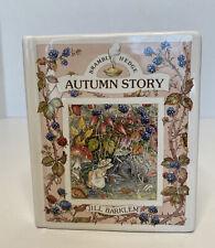 Royal Doulton Jill Barklem Brambly Hedge Autumn Story Savings Book Bank 1989