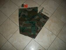 Woodland Camo MENS  BDU Cargo Pants Mens Military Camouflage Pants SIZE 34X32