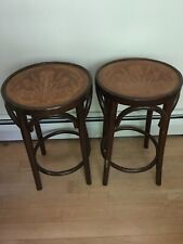 vintage thonet bentwood Pair Of Stools