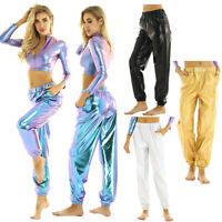 Para mujer Harlan comodidad Hip Hop Pantalones Pantalones Street Dance Suelto perference K209