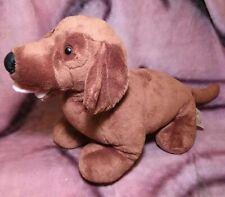 """Build-a-Bear Dachshund Weiner Dog - 15"""" Plush Stuffed Animal Toy"""