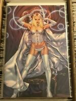 X-MEN #9 JAY ANACLETO VIRGIN VARIANT COVER WHITE QUEEN EMMA FROST uncanny