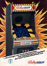 BALLY MIDWAY - BALLY WULFF GERMAN VIDEO FLYER