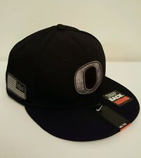 "NWT-NIKE OREGON DUCKS Camo Pioneer Pack 33 Rare SnapBack Hat ""Salute to Service"""