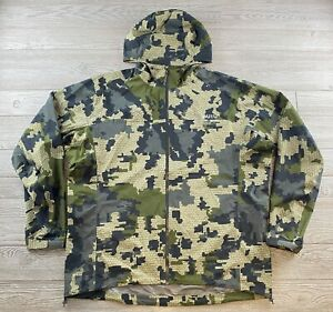 KUIU Ultra NX Rain Jacket Dermizax TLX mens Nylon 3XL Lightweight Hooded  Verde