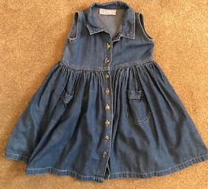Amelia Jane Denim Dress Age 2-3