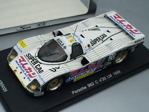 """1/43 Spark KB PORSCHE 962C #20 """"MARUKATSU"""" LE MANS 1989, JAPAN"""